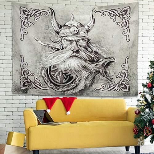 Bannihorse Tapiz de pared – Picnic Beach Sheet, decoración para pared dormitorio salón Decor White 230 x 150 cm