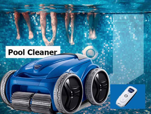 Review Of 60' Pool 4WD Robotic Inground Swimming Cleaner Automatically Evacuates Water for Effortles...