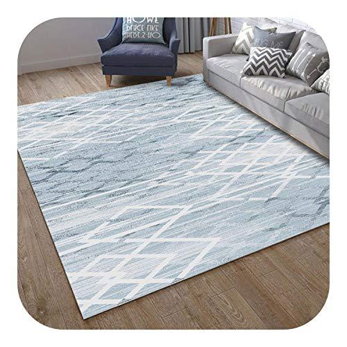 Preisvergleich Produktbild Teppich Set Grau / Nordic Artwohnzimmer Teppiche Minimalist Geometric Teppichboden Schlafzimmer 3D-Druck Nicht Beleg-Fußboden-Matten 80 * 160cm Pad,  800MMx1200MM,  Muster 11