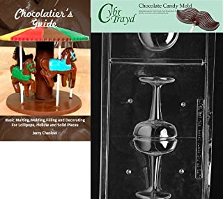 Cybrtrayd Bk-AO300 Champagne Glass All Occasions Chocolate Candy Mold