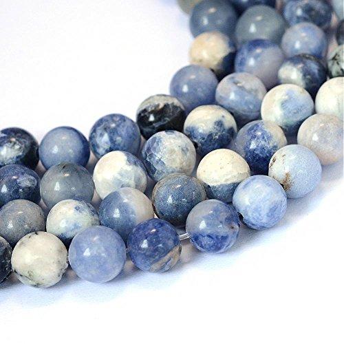 Sodalith Sodalite Perlen 8mm * A Grade * Kugel Edelstein Natursteine Schmuckperlen Schmuckstein Perle Zum Fädeln G742