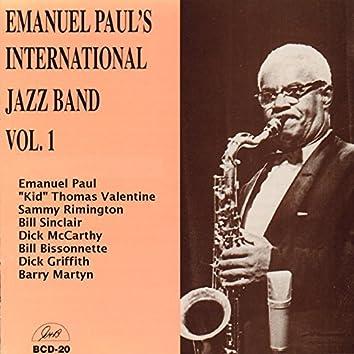Emanuel Paul's International Jazz Band, Vol. 1