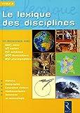 LEXIQUE DES DISCIPLINES