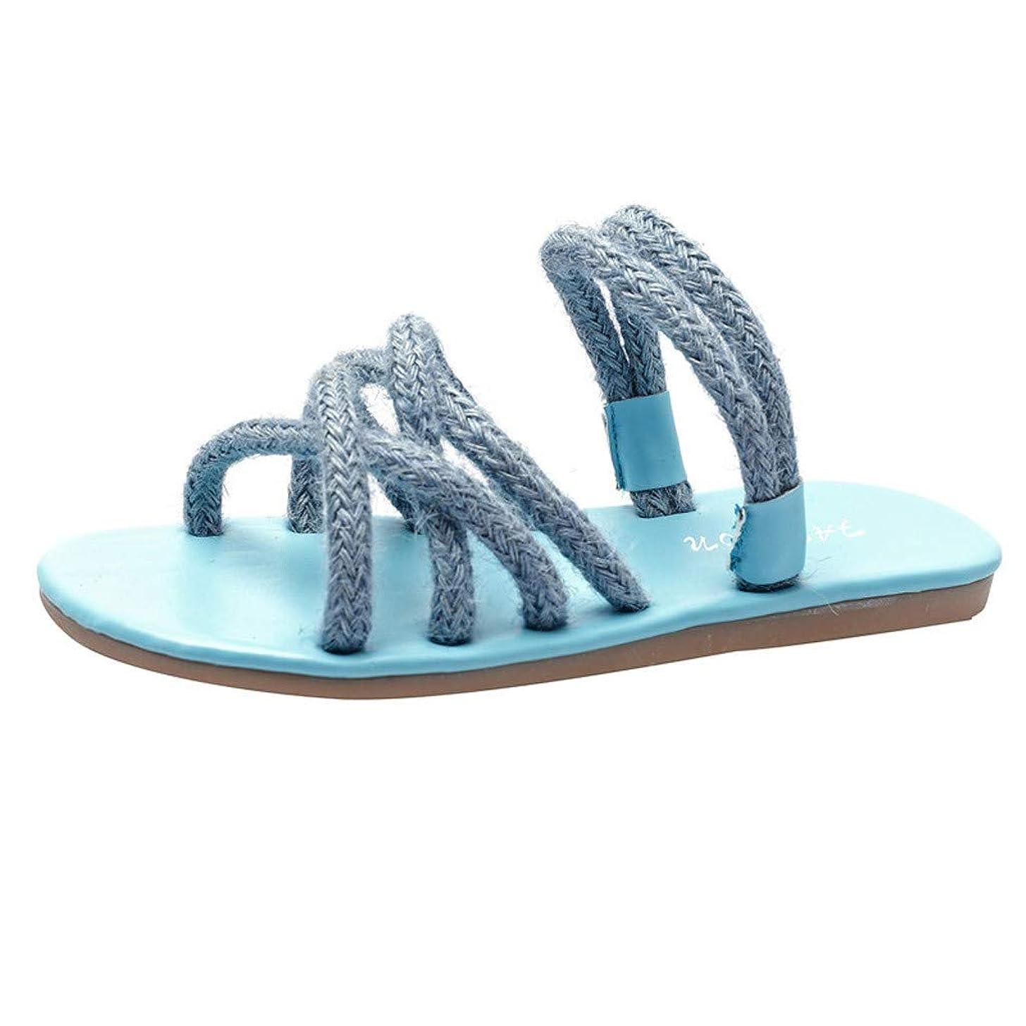 Women's Fashion Suede Cross Strap Beach Walking Flats Shoes Slip On Slippers Casual Open Toe Sandals JHKUNO