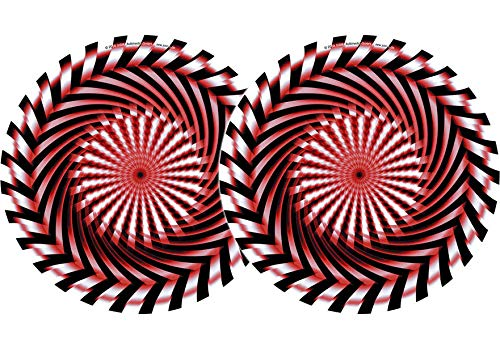 Zomo 2x Slipmats - Säge Doppelpack, rot