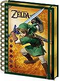1art1 The Legend of Zelda - Link Bloc De Notas Libreta De Espiral (21 x 15cm)