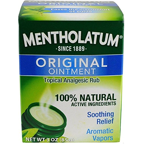 Mentholatum Ointment, 3 Ounce / 85 g (Pack of 2)