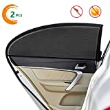 Car Sun Shades for Side Window Car Interior Sun Protection for Baby, Double Layer Design, Blocks Over 98% of Harmful UV Rays, Protect Child from Sun Glare and Heat, Protect Privacy.
