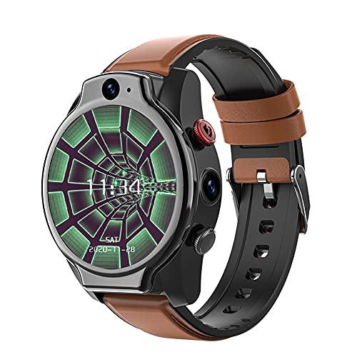 Reloj Inteligente De Llamadas Deportivas, Sistema Android 10, 5ATM a Prueba De Agua, 4GB + 64GB, Cámara De 5MP, Podómetro De Seguimiento De Frecuencia Cardíaca, Reloj Inteligente 4G GPS WiFi