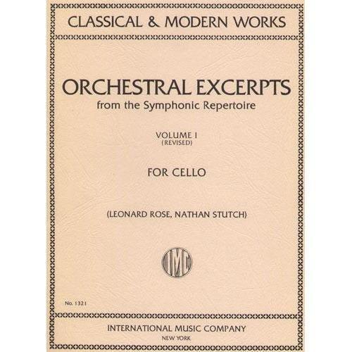 Orchestral Excerpts Volume 1 Cel...