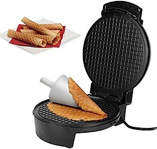 Electric Crispy Egg Roll Maker, Omelett Sandwich Iron Crepe Bakpanna, Waffle Pancake Oven DIY Ice Cream Cone Machine