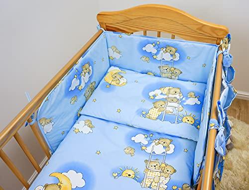 Baby Comfort 5 pièces Chambre Parure de lit pour lit bébé 140x70 cm - motif 4