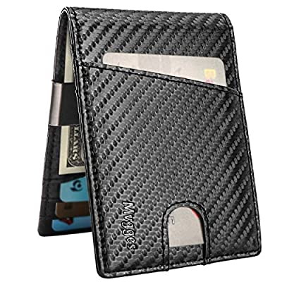 Mvgges Money Clip Wallet Slim Front Pocket Card...