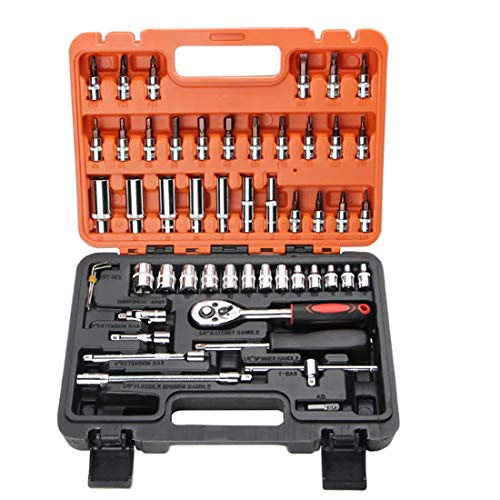 CLJ-LJ Reparación carcasa de la instalación automática de la manga de juego de llaves de trinquete de reparación rápida herramienta de la combinación de la capilla de vapor de neumático auto Remoción