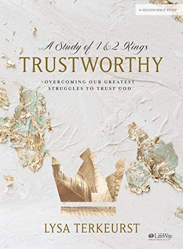 Trustworthy Bible Study Book Overcoming Our Greatest Struggles to Trust God product image