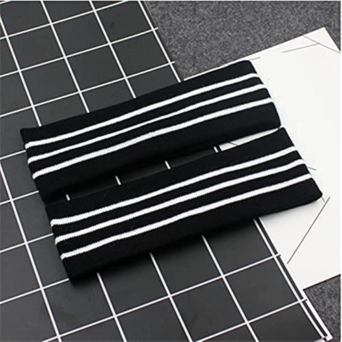1 unids Elástico Headband Deporte Accesorio Tenis Diadema DIEADA STRED Stripes Hairband (Color : Style 10)