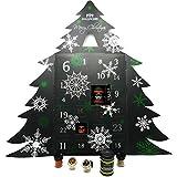 Hallingers Riesiger 24 Gewürz-Adventskalender als Baum (570g)