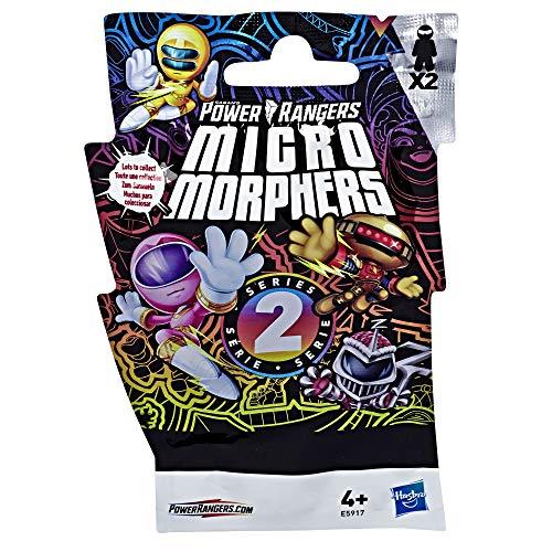 Power Rangers E5917EU40 Spielzeuge Micro Morphers Serie 2 zum Sammeln, tolle Party-Mitgebsel und Geschenke