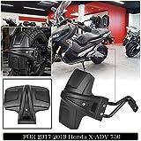 OUYAWEI Accesorios para Motos Profesionales Kickstand Sidestand Stand Extension Enlarger Pad para Honda X-ADV Azul