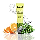 Quench Botanics Mama Cica Dark Circle Fading Under Eye Cream   with Relaxing Roller Ball Applicator   Reduces Dark Circles, Puffiness and Fine Lines   with Cica, Korean Ginseng, Lotus Root, Licorice Root and Orange Peel Oil (15ml)