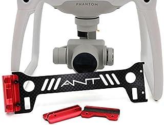 Bestmaple® dji ファントム4 着陸ギアヘッド保護ボード/カメラジンバル プロテクター ボード(3k炭素繊維+赤いCNC)