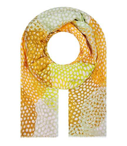 Majea Halstücher Damen Tuch Kopftuch Halstuch Schal Damen-Schal Tücher Damen Stola (gelb 5)