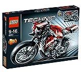 LEGO - 8051 - Jeu de construction - LEGO Technic - La moto