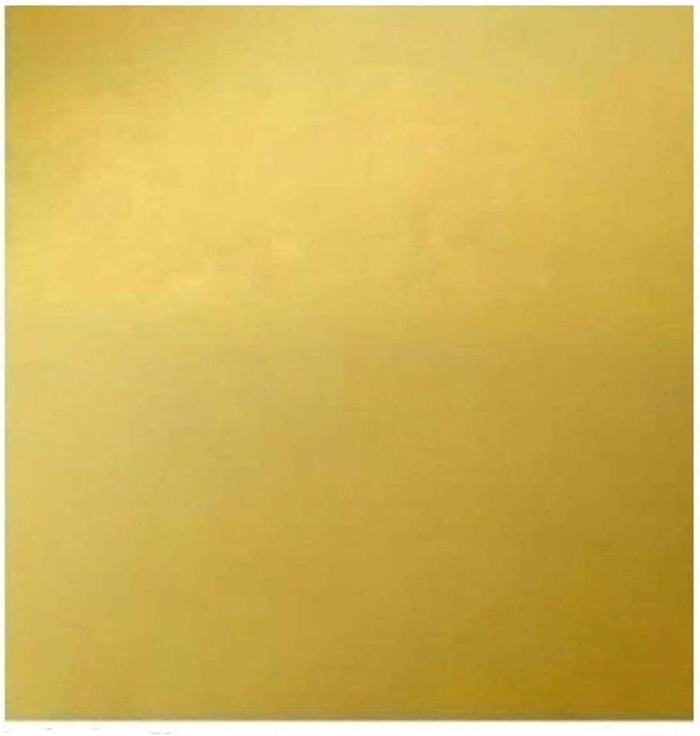 Wzqwzj Brass Topics on TV Sheet 1.5mm Metalwo for Popular brand in the world 100mm x