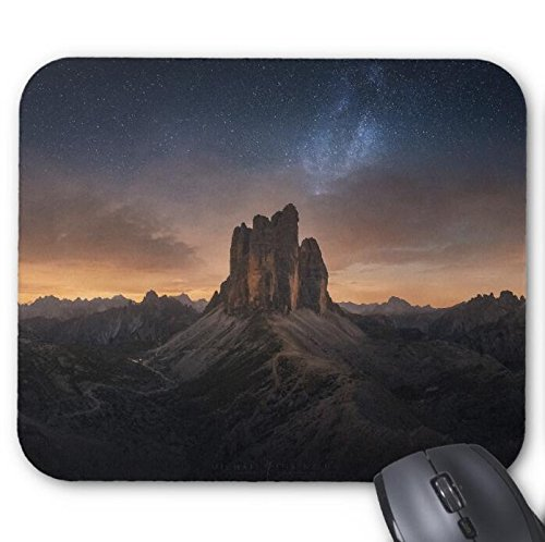 Dolomites Milkyway Mouse Pad 11.8 X 9.8 in