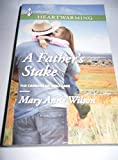 A Father's Stake (The Carsons of Wolf Lake, Heartwarming #66)