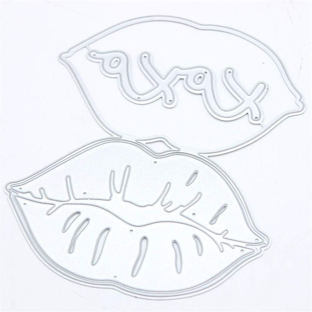 KSCRAFT Lip Bag Topper Metal Free Shipping New Max 58% OFF Cutting Stencils Scrap for Dies DIY