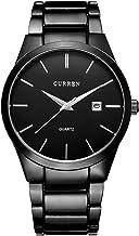 CURREN Reloj Análogo Para Hombres, Diseño Elegante,