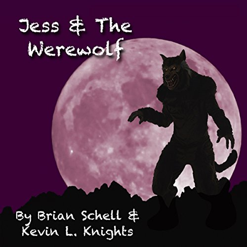 Jess and the Werewolf audiobook cover art