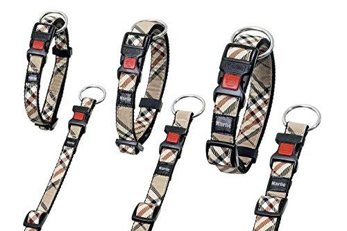 Karlie Artjoy Plus - Halsband Englisch Style - 15 mm 30-45 cm