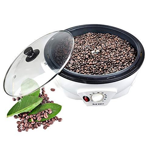 Elektrischer Kaffeeröster, 220V 1200W Haushalt Kaffeebohnen Röstmaschine Vollkorn Backmaschine Popcornmaschine, Kapazität 800G