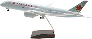 1:130 Scale 43Cm Boeing 787 Canadian Green Sound Control with Light, LED Airplane Model Model Airplane,Gift