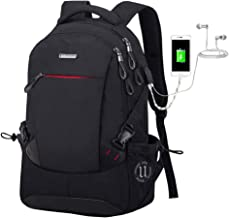 Valexbia Laptop Backpack USB Port Anti-Theft Computer Backpacks