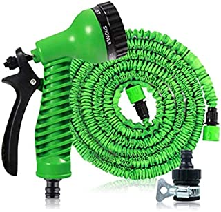 Mopoq Garden Hose,Expanding Garden Water Hose Pipe With 7 Function Spray Gun, 3 Times Expandable Watering Hose ,Flexible M...