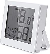 Termómetro Electrónico Montado En La Pared Número Electrónico Interior Del Hogar Muestran El Medidor De Temperatura De Precisión De La Habitación Del Bebé De Alta Precisión