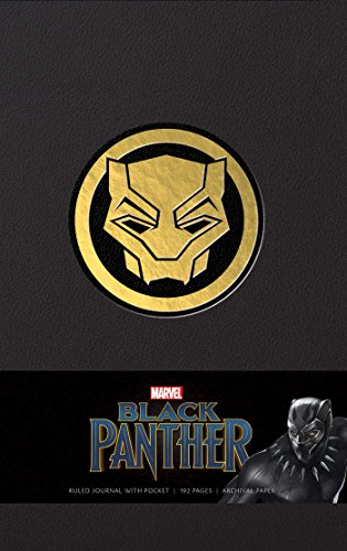 Marvel's Black Panther Hardcover Ruled Journal