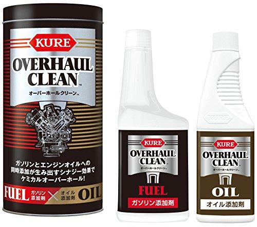 呉工業 KURE オーバーホールクリーン燃料添加剤&オイル添加剤 3095 [0959]
