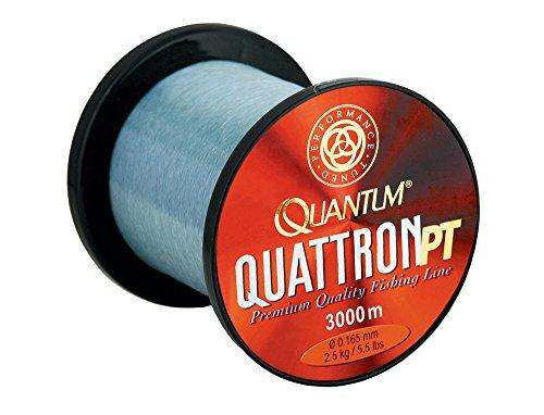 Quantum Quattron PT Großspule, Transparent, One Size