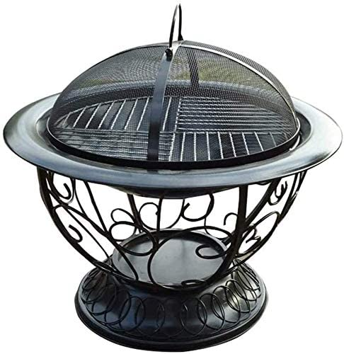 Max 79% OFF BBQ Grill Brazier Wood Burning L Pits Fire Firepit Outdoor Regular store