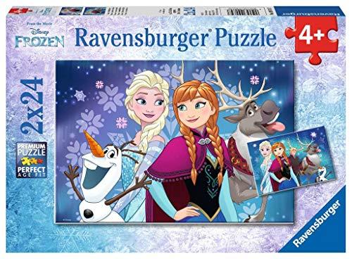 Ravensburger Italy- Disney Frozen 2 Puzzle da 24 Pezzi, Multicolore, 9074