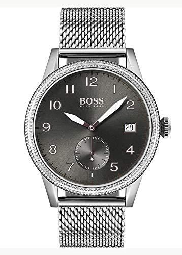 Hugo Boss Quarz Armbanduhr mit Edelstahlarmband 1513673