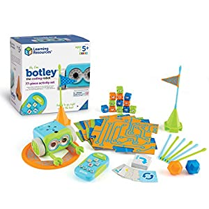 Learning Resources Botley the Coding Robot Activity Set, Homeschool, Coding Robot for Kids, STEM Toy, Programming for…