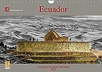 Ecuador 2022 Zwischen Hochland und Kueste (Wandkalender 2022 DIN A4 quer): Ecuador - kleines Land mit vielen Facetten (Monatskalender, 14 Seiten )