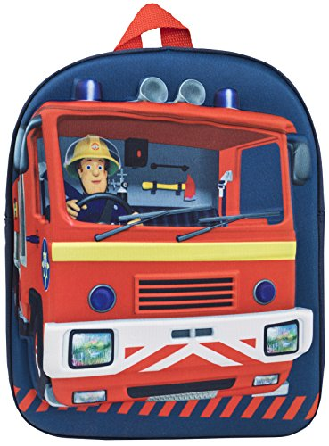 Brandweerman Sam Kids 3D Rugzak Jongens Meisjes Firetruck Kwekerij Rugzak Lunch Bag