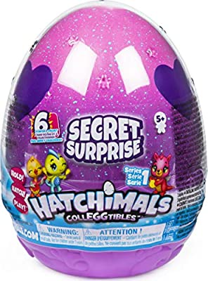 Hatchimals 6047125 - CollEGGtibles, Secret Surprise Playset with 3 Hatchimals (Styles May Vary) from Spin Master