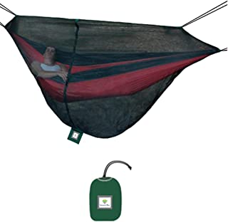 Hammock Bliss Mosquito Net Cocoon -The Ultimate Bug Screen Mossy Netting Canopy for Your Camping Hammock with Insect Proof No See Um Mesh - Make Hammock Camping A Bug Free Experience